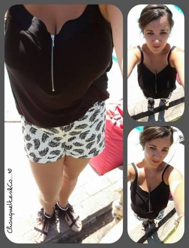 Short by H&M, Top by Kiabi